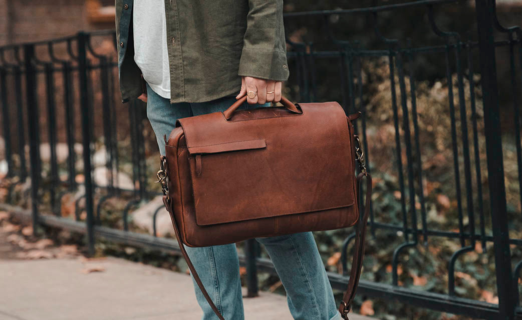 Rustico leather bag messenger