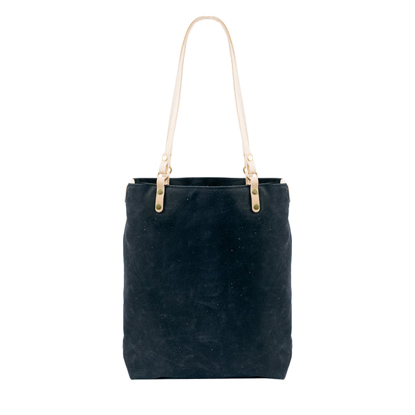 Catalina Canvas Leather tote