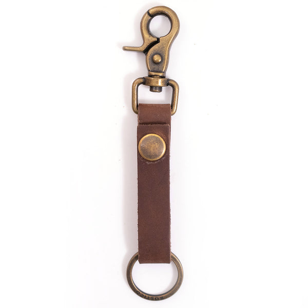 Super Loop Leather Keychain