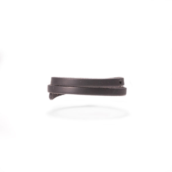 Highway Leather Bracelet - Skinny & Wide