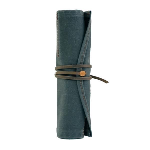 Leather and Canvas Utility Roll