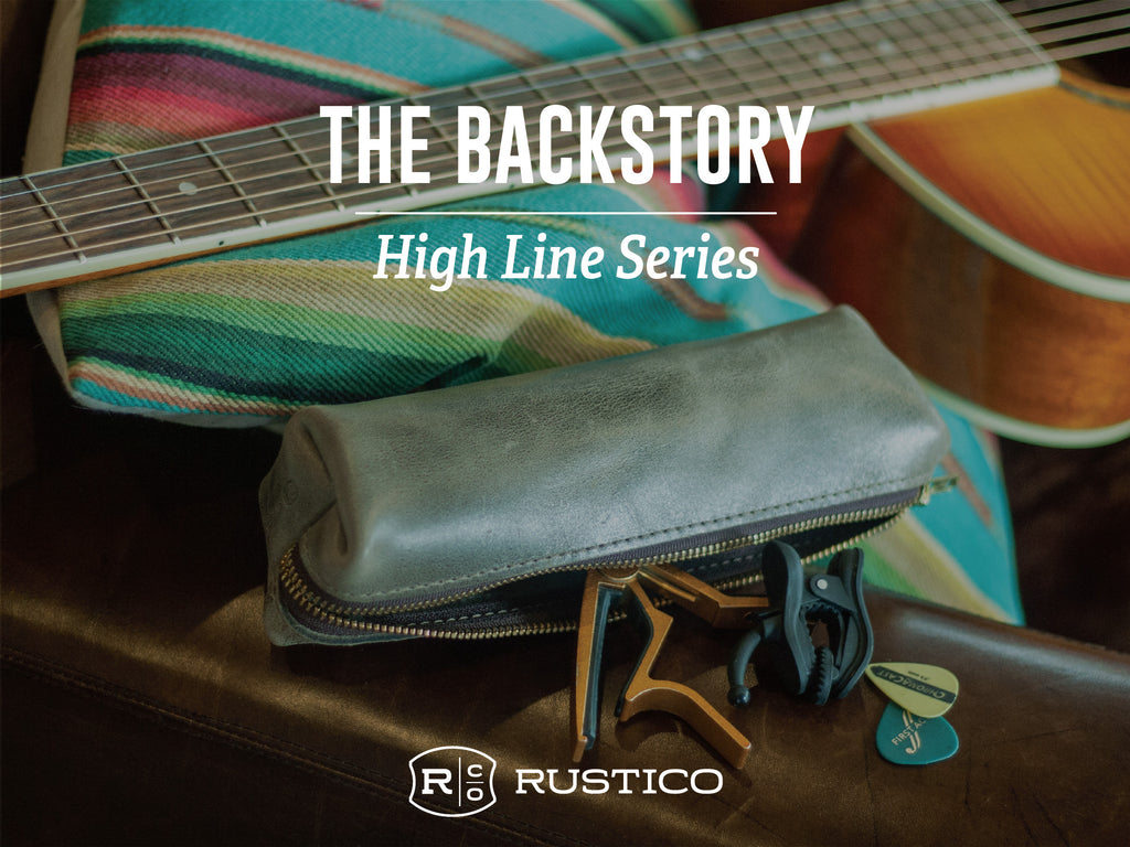 The Backstory Series: The High Line Leather Pouch
