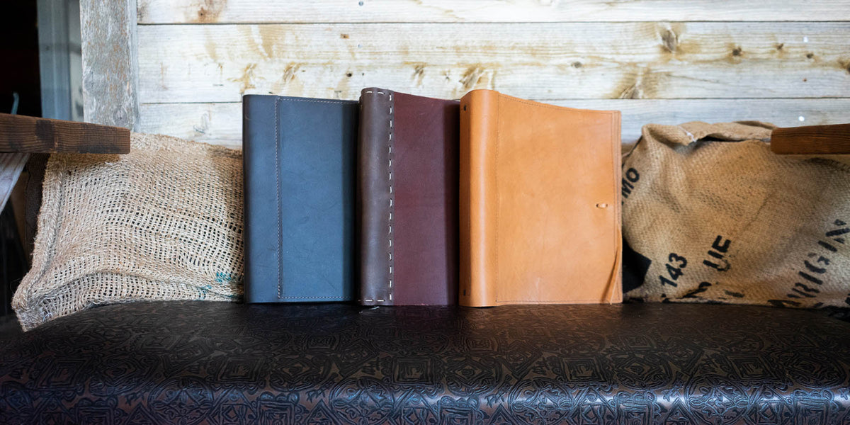 Custom Leather Binders And Portfolios