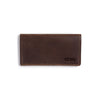 Cargo Leather Wallet - Dark Brown