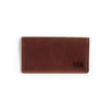 Cargo Leather Wallet - Saddle