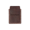Drifter Leather Wallet - Hand sewn - Burgundy