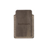 Drifter Leather Wallet - Hand sewn - Charcoal