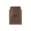 Drifter Leather Wallet - Hand sewn - Dark Brown