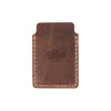 Drifter Leather Wallet - Hand sewn - Saddle