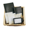Leather Travel Journal, Luggage Tag, and Passport Cover Gift Set -