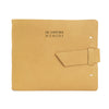 Leather Guest Book - Buckskin / In Loving Memory
