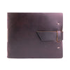 Leather Guest Book - Burgundy / Blank