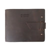 Leather Guest Book - Dark Brown / In Loving Memory