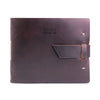 Leather Guest Book - Burgundy / Guest Sign-In