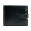 Leather Guest Book - Black / Home Sweet Home