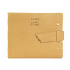 Leather Guest Book - Buckskin / Home Sweet Home