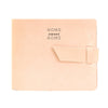 Leather Guest Book - Natural / Home Sweet Home