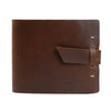 Leather Guest Book - Saddle / Blank