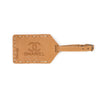 Leather Luggage Tag - Hand Sewn - Buckskin