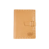 Switchback Leather Notebook - Hand-sewn - Buckskin