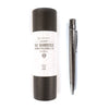 Writer's Log Leather Refillable Notebook + Pen Gift Set -