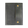 Writers Log Large Leather Notebook - Snap Closure - Ocean