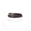 Byway Leather Bracelet - Black / Medium