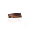 Byway Leather Bracelet - Burgundy / Medium
