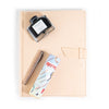 Leather Padfolio + Fountain Pen Gift Set - Natural