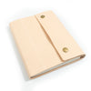 Writers Log Large Leather Notebook - Snap Closure -