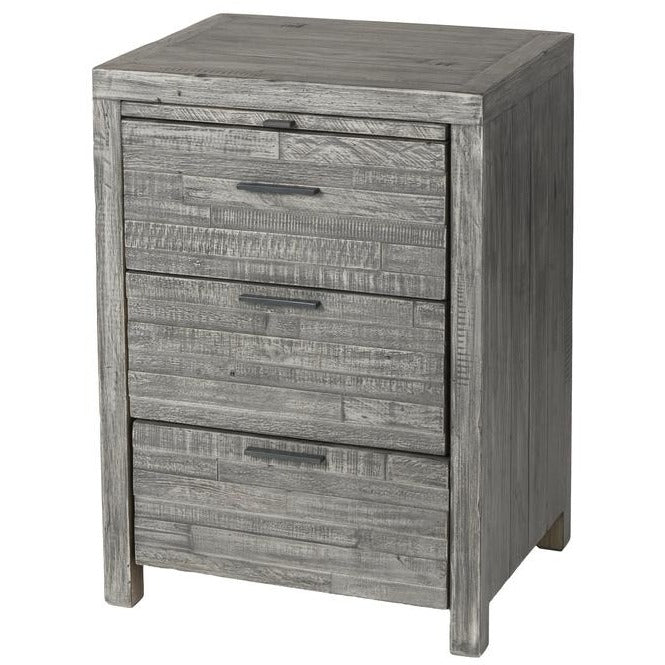 Tuscan Spring Nightstand - Grey Wash