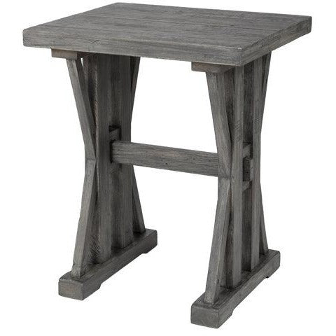 Tuscan Spring Side Table - Grey Wash