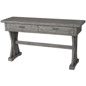 Tuscan Spring Console Table - Grey Wash
