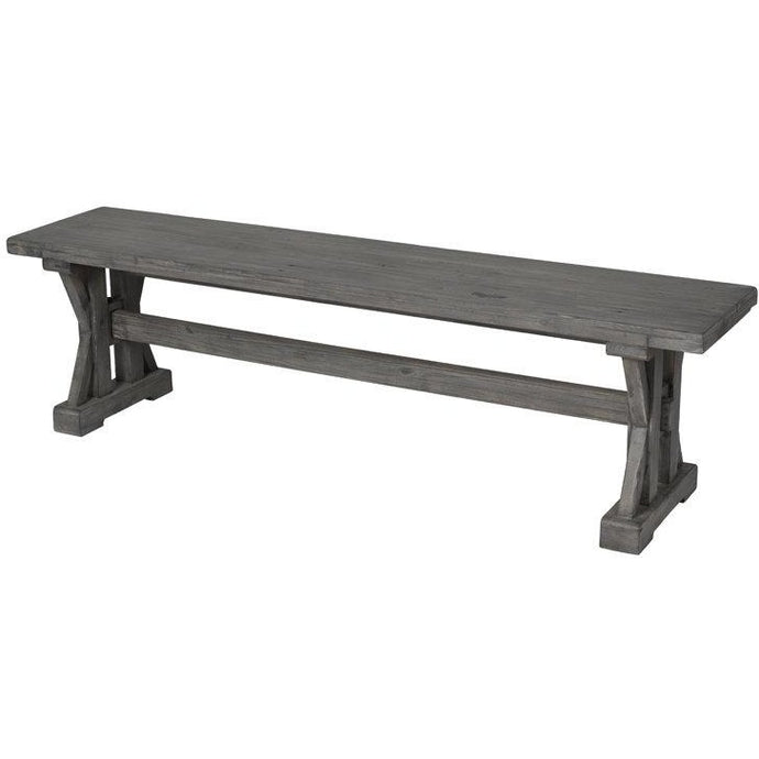 Tuscan Spring Dining Bench - Grey Wash