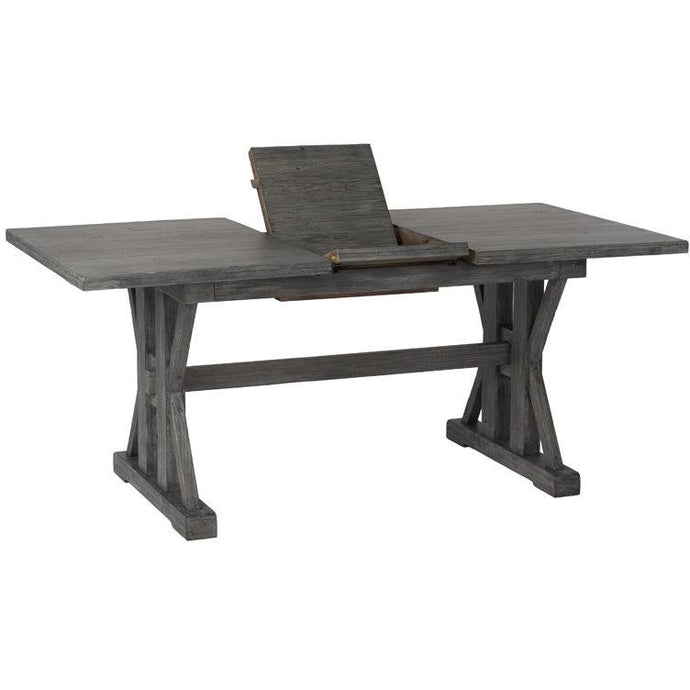 Tuscan Spring Regular Extension Dining Table - Grey Wash