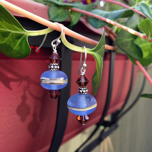 """Lamp Work"" - Earrings"