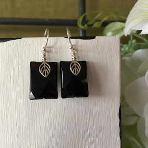 """Black Knight"" - Earrings"