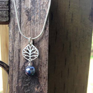 """Mystery Leaf"" - Necklace"