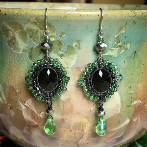 """The Green Eyed Monster"" - Earrings"