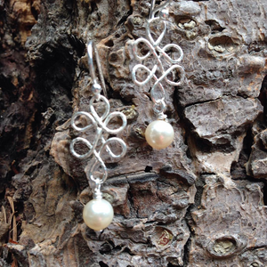 """Lucky Pearls"" - Earrings"