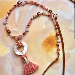 """Boho Blush"" - Necklace"