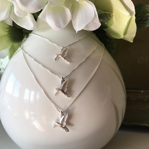 """Hummingbird"" - Necklace"
