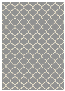Moroccan Treillis Light Grey