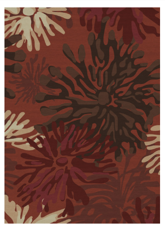 Mum Floral Red