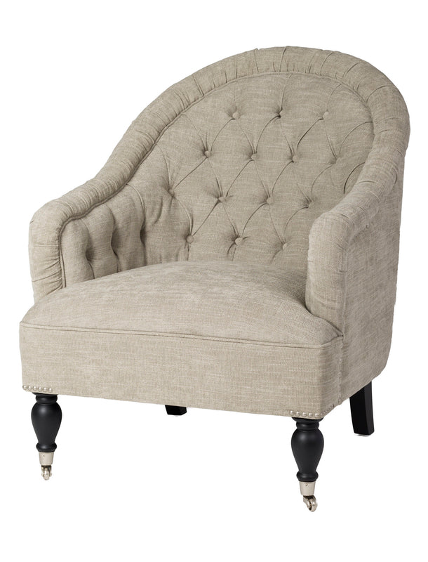 Stanley Club Chair- Taupe