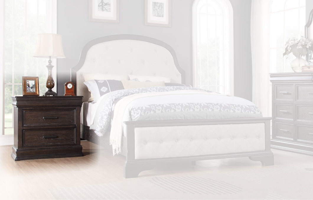 Sonoma 3 Drawer Nightstand