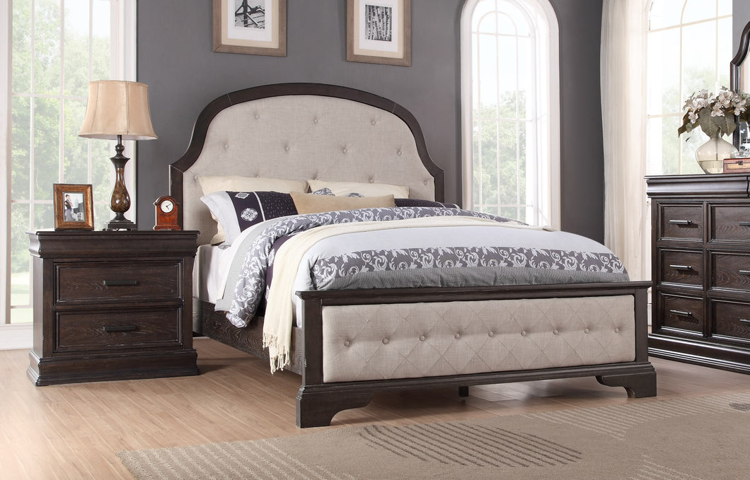 Sonoma Upholstery Queen Bed