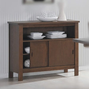 "Walsh 35"" sideboard, walnut"