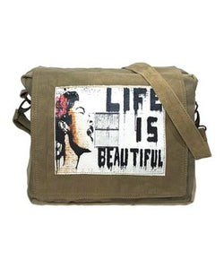 Canvas Recycled Military Tents Bags