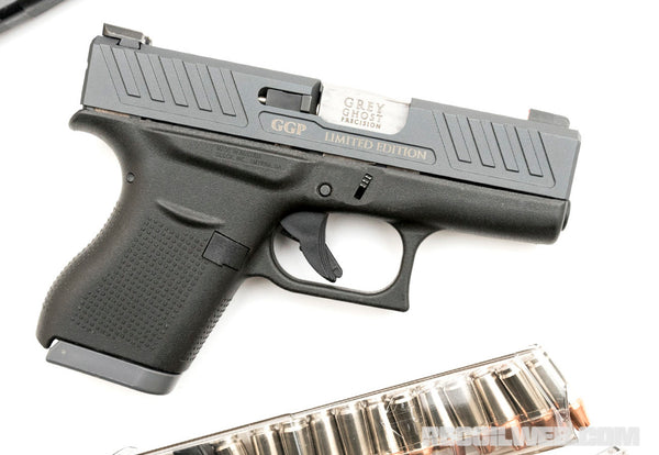 RECOIL: Little Ghoulish Glock - Glock 43 Slides – Grey Ghost Precision